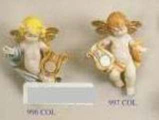 ANGELI VOLANT CON LIRA 7cm 1pz