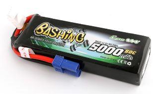 LiPo 3s 11,1v 5000mAh 50C BASHING XT90