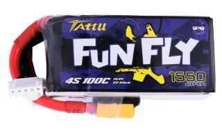 LiPo Tattu Fun Fly 14,8v 1550mAh 100C 4S1P XT60