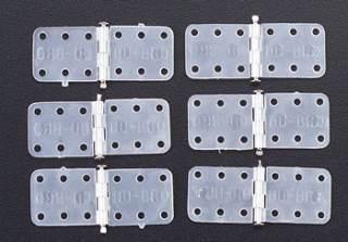 118 CERNIERE PICCOLE NYLON 6pz