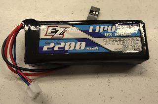 PACCO LiPo RX 7,4v 2200mAh BEC