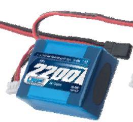 PACCO LiPo RX 7,4v 2200mAh 3+2