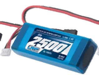 PACCO LiPo RX 7,4v 2500mAh 1x5