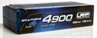 LiPo Shorty 7,6v 4900mAh 65/135c Graphene-4 HV Stock Spec