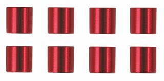 COLONNINE ROSSE CORTE  5mm 8pz