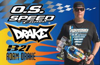 OS SPEED B21 DRAKE EDITION 3,5cc BUGGY 1/8