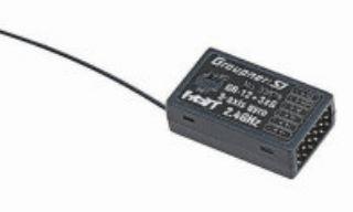 RICEVENTE GR12+3xG 6ch  2,4Ghz