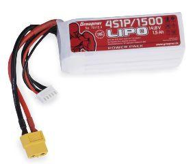 LiPo 4S 14,8v 1500mAh XT60 70C