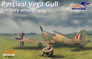 Dora Wings Percival Vega Gull 1/72 military service