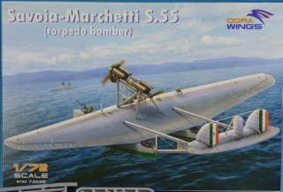 Savoia Marchetti S.55 Torpedo bomber 1/72