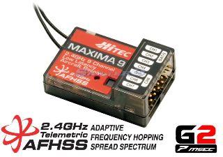 MAXIMA 9 9ch FULL RANGE 2,4Ghz