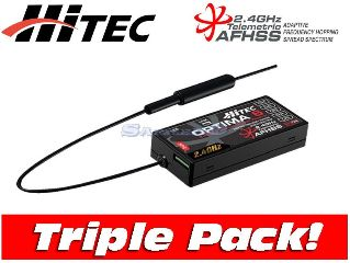 BOX 3pz RX OPTIMA 6 6ch 2,4Ghz