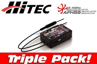 OPTIMA 9 TRIPLE PACK    2,4Ghz