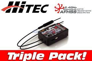 OPTIMA 9 TRIPLE PACK    2,4Ghz