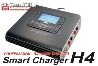 SMART CHARGER H4  12v 4 USCITE