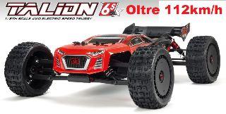 TALION 6S 4WD BLX 1/8 oltre 112km/h montato con radio