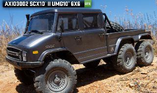 SCX10 II UMG10 6x6 1/10th RTR Unimog