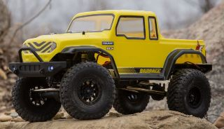 BARRAGE 2.0 BRUSHED GIALLO 1/12 SCALER 4WD    ECX01013IT2