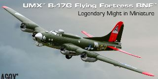 UMX B17G FLYING FORTRESS   BNF