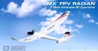 UMX FPV RADIAN BNF       730mm