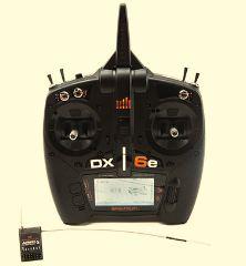 RADIO 6ch DX6e 2016     CON RX