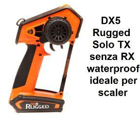 DX5 Rugged Orange DSMR solo TX senza ricevente