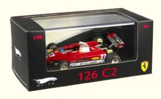 FERRARI F1 126C2 GP IMOLA 1/43