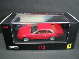 FERRARI 412 1985 ROSSA    1/43