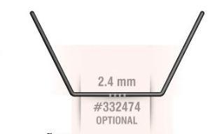 BARRA TORSIONE 2,4mm  NT1 2013