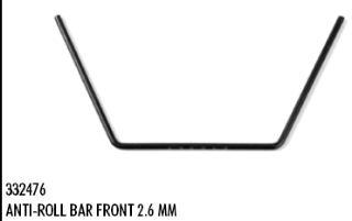 BARRA TORSIONE 2,6mm  NT1 2013