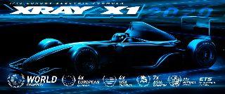 Xray X1 2020 1/10 Formula 1 in kit carrozzeria inclusa
