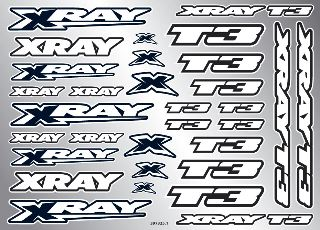 DECALS                 XRAY T3