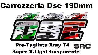 Carrozzeria SRC Dse Super X light  Xray T4 190mm pre tagliata