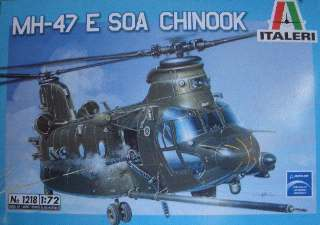 MH-47 E SOA CHINOOK       1/72