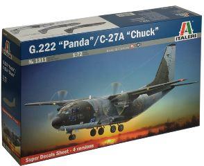 G222 PANDA   C27A CHUCK   1/72