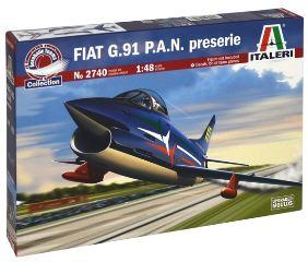 FIAT G91 PAN PRESERIE     1/48