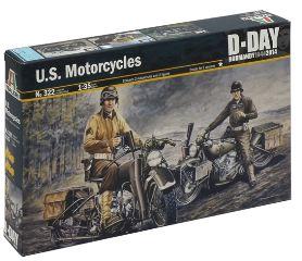 SOLDATI SULLE MOTO   WWII 1/35