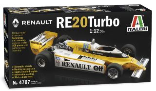 Renault F1 Re20 Turbo 1/12