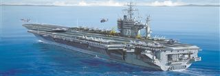 USS ROOSVELT PORTAEREI   1/720
