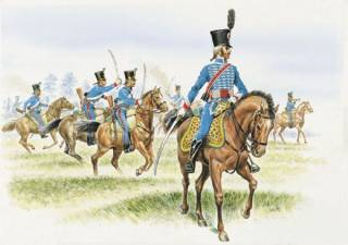 FRENCH HUSSARS (NAPOLEONE)1/72