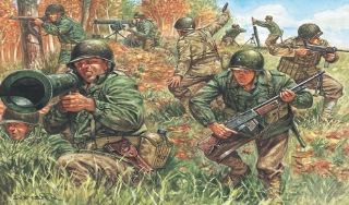 FANTERIA USA 2nd WW       1/72