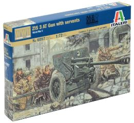 CANNONE RUSSO M1942 ZIS 3 1/72