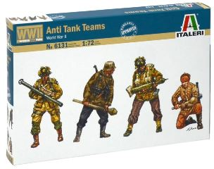 ANTI TANK TEAMS WWII      1/72