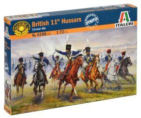 British 11th Hussars      1/72 GUERRA DI CRIMEA