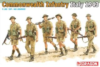 DRAGON FANTERIA ITALIANA  1/35 1943 COMMONWEAL