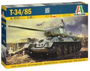 CARRO RUSSO T34/85        1/35 ZAVOD 183 Mod. 1944