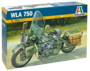 MOTO MILITARE WLA 750      1/9
