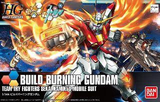HGBF GUNDAM BUILD BURNING