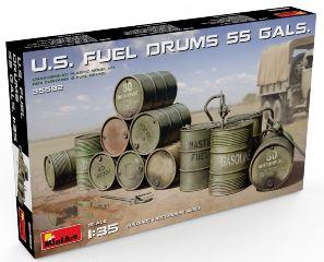 U.S. Fuel Drums (55 Gals.)  1/35