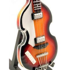 Beatles Mc Cartney Bass mini chitarra in legno